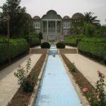 Perská zahrada v Bagh-e-Eram Shiraz, Írán (foto: Fabienkhan)