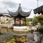 Architektura v čínské zahradě