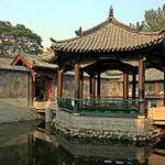 Pavilon v bambusové zahradě (foto: Rolfmueller)