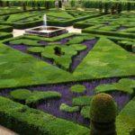Francouzský park ve Villandry v údolí Loiry (foto: Aernoudts Jean)