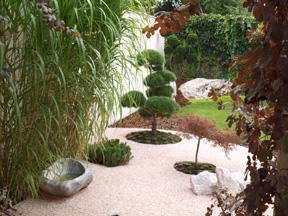 Okrasná zahrada v Nymburku