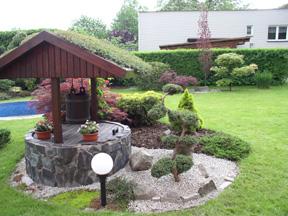 Okrasná zahrada v Třinci
